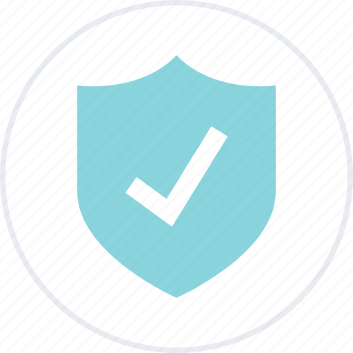 approved, check, mark, safe, secured, shield, ssl icon