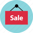 business, hang, hanging, sale, sign icon