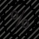 badge, discount, sale icon