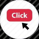 click, file, online, open, store, web icon