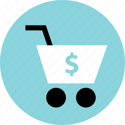 add, cart, check, dollar, go, out, shopping icon
