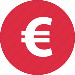 check, euro, funds, money, out, pay, sign icon