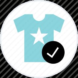 goods, merchandise, new, ok, online, shirt, tee icon