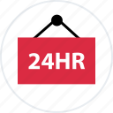 business, four, hours, new, open, twenty icon