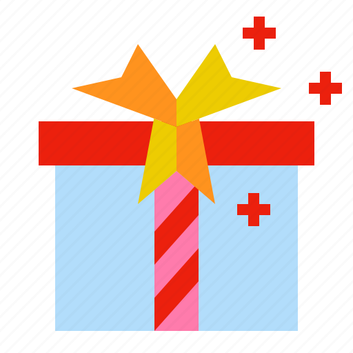 box, gift, package, wrapped icon