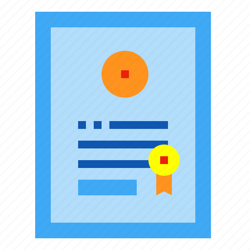card, certificate, guaranty, warranty icon