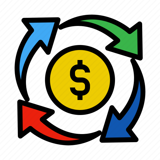change, exchange, move, replacement icon