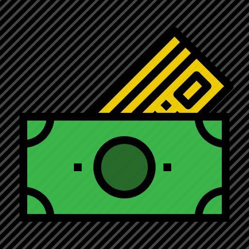 credit, method, money, payment icon