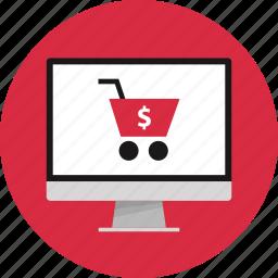 blackfriday, cyber, monday, shop icon