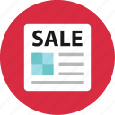 blackfriday, cyber, event, monday, news, newsletter, sale icon