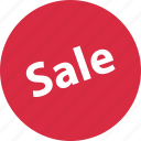big, event, sale, sign icon