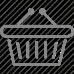 basket, bucket, buy, online, online shopping, promotion, shop icon