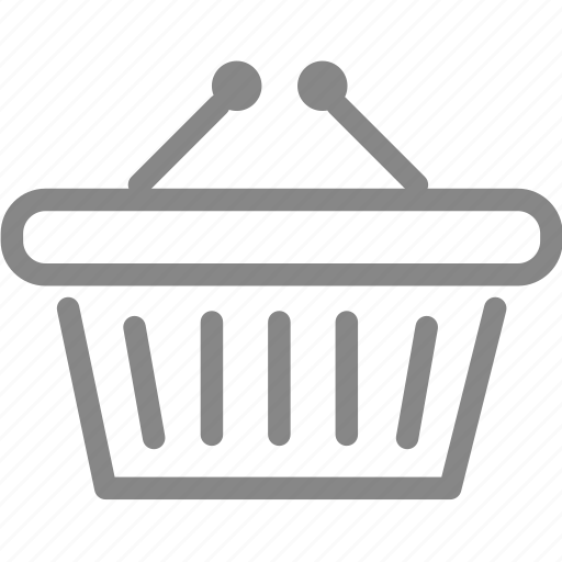 basket, bucket, buy, online, online shopping, promotion, shop icon