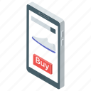 ecommerce, mobile shopping, online purchase, online shop, online shopping, shopping website icon
