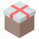 delivery box, gift box, online shopping, parcel, reward icon