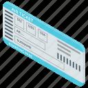 air ticket, discount ticket, flight booking, flight reservation, ticket, travel document icon