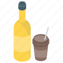 beverage, bottle, drink, liquor, wine icon