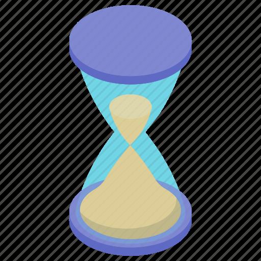 clock, hourglass, sandglass, stopwatch, timer, vintage clock icon
