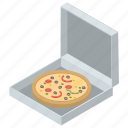 food delivery, italian cuisine, junk food, pizza box, pizza delivery icon