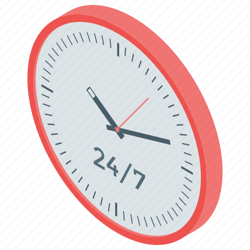 clock, time machine, timepiece, timer, wall clock, watch icon