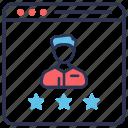 customer, customer satisfaction, feedback, popular, rating, review, satisfaction icon