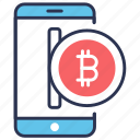 bit coin, cashless, coin, currency, digital, money, payment