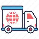 delivery, global delivery, international, shipping, transportation, truck, world