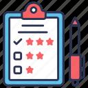 customer, customer survey, list, questionnaire, rate, satisfaction, survey