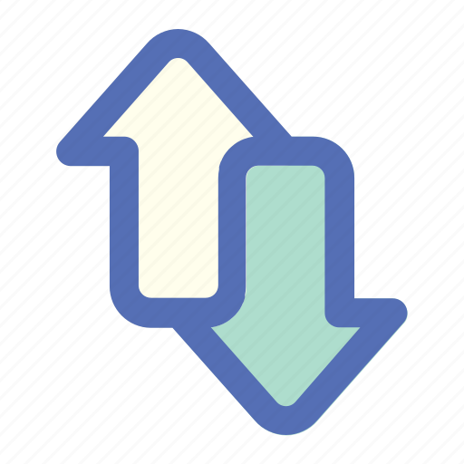 arrow, ecommerce, method, online, payment, shop, transfer icon