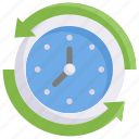 online shopping, time duration, hour, clock icon
