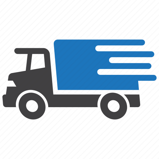 delivery, express, fast, shipping, truck icon