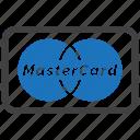 card, credit, master icon