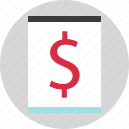 blog, earnings, money, website icon