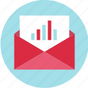 email, envelope, mail, online icon