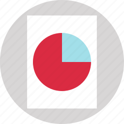chart, circle, divident, pie icon