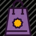 bag, cart, shop, shopping