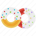 breakfast, bun, dessert, donut, food, kitchen icon