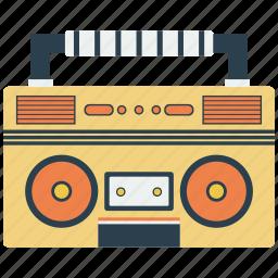boombox, music, radio icon
