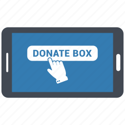 application, browser, donate, donation, network, online, web icon