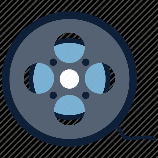 celluloid, cinema, film, movie icon