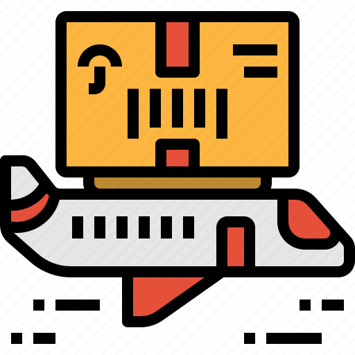 air, delivery, mail, plane, post, service, shipping icon