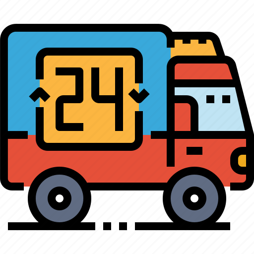 car, delivery, shipping, transport, truck icon