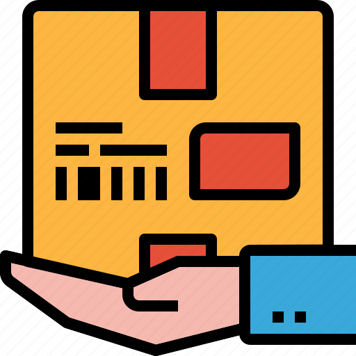 delivery, package, post, service, shipping icon