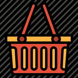 basket, commerce, shopping, supermarket icon