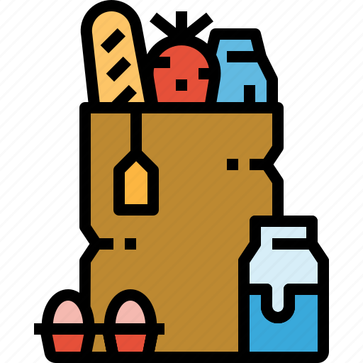 bag, groceries, market, shopping, store, supermarket icon