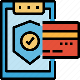 buyer, cards, credit, debit, payment, security, warranty icon