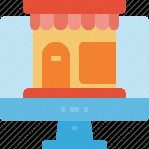 commerce, online, shop, store icon