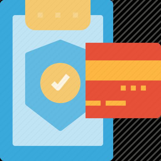 buyer, cards, credit, debit, payment, security, warranty icon