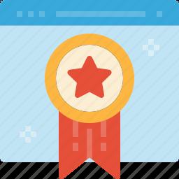 best, guarantee, page, quality, warranty, web icon