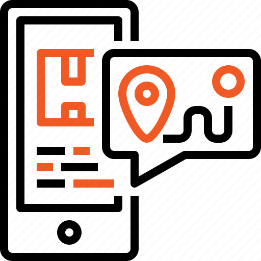 delivery, gps, location, post, shipping, tracking, transport icon